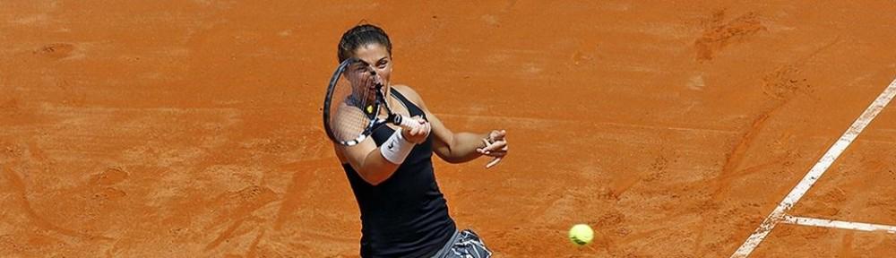 Vice-campeã de Roland Garros e número um do mundo de duplas, Sara Errani joga o Rio Open