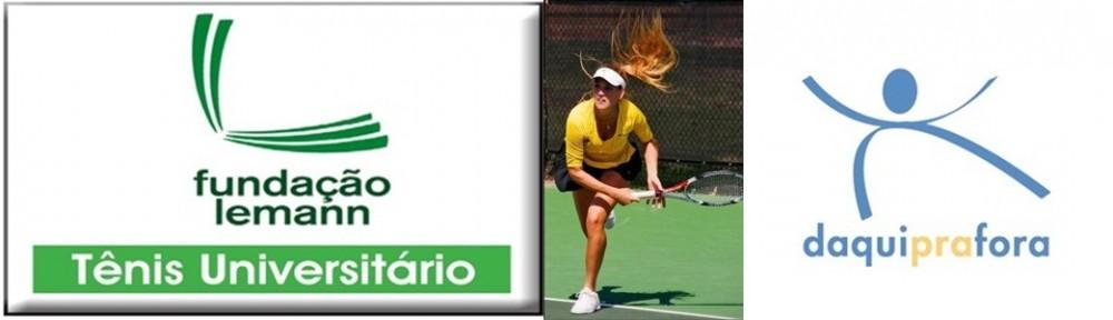 Florentina aproveitou o apoio da Fundação Lemann e Daquiprafora pra jogar tênis e se formar nos EUA