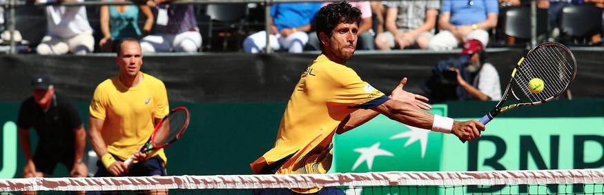 Melo e Soares estreiam nesta 6a. no Miami Open. Bellucci e Feijão também jogam.