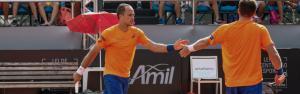 Soares e Peya vencem a 1a. em Barcelona