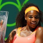 Serena vence Suarez Navarro de forma dominante e conquista o título do Premier de Miami pela oitava vez