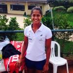 Teliana Pereira embarca para a disputa de série de torneios no saibro