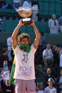 Guga campeão Roland Garros 2001