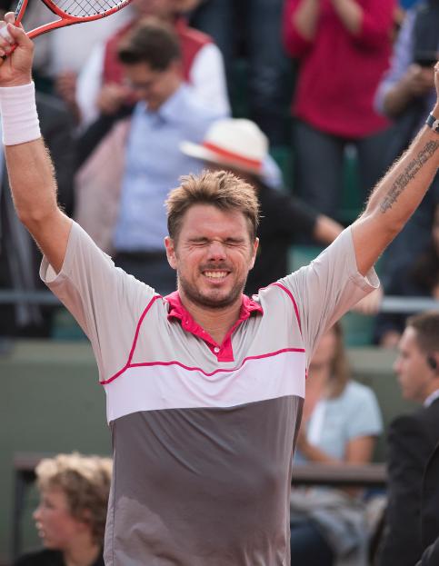 Wawrinka campeão de Roland Garros