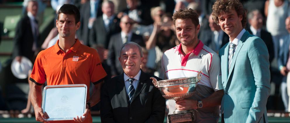 Wawrinka é campeão de Roland Garros