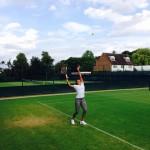 Teliana já treina em Wimbledon e quer top 50