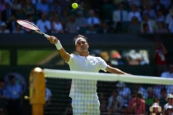 Federer - Wimbledon peq