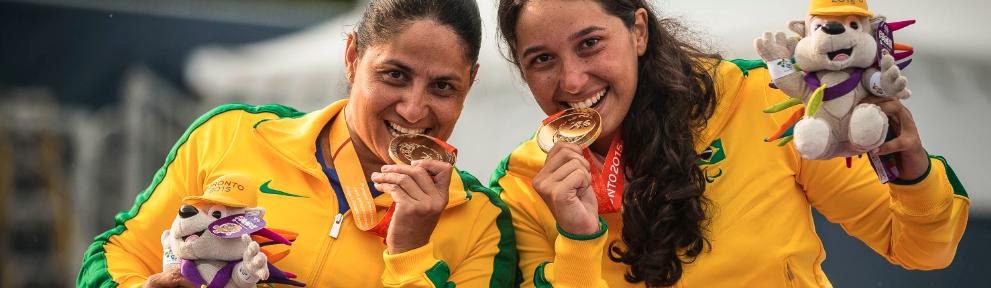 Brasil é ouro nas duplas no Parapan de Toronto
