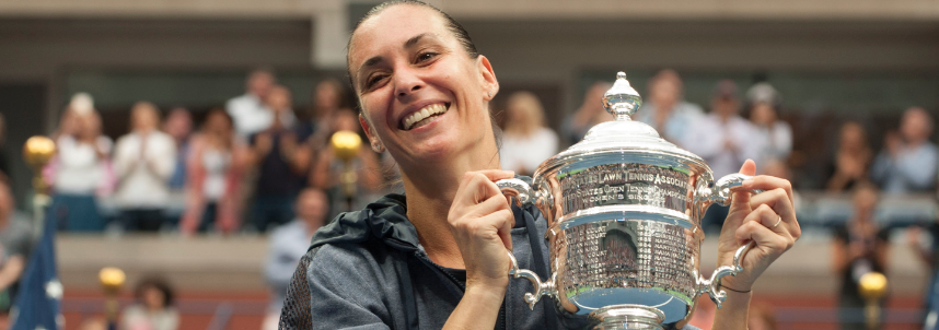 Flavia Pennetta é campeã do US Open