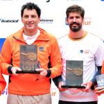 Saretta e Jábali são campeões do Itaú Masters Tour em SP