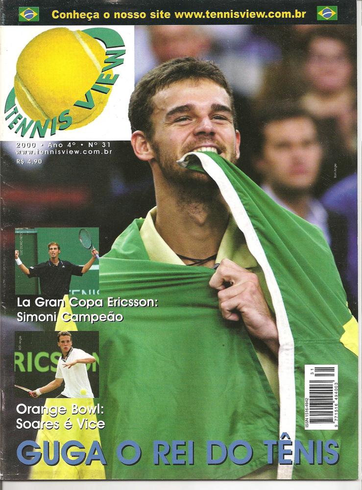 Capa Guga edição 31 Tennis View