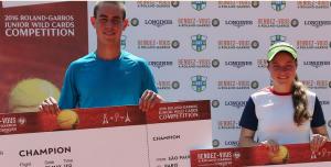 Lucas Koelle e Marcelle Cirino vencem o Rendez Vous à Roland Garros em SP