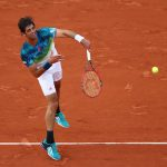 PARIS, FRANCE - MAY 23:  Thomaz Bellucci of Brazil serves during the Men's Singles first round match against Richard Gasquet of France on day two of the 2016 French Open at Roland Garros on May 23, 2016 in Paris, France.  (Photo by Julian Finney/Getty Images)