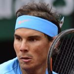 May 25, 2015 Rafael Nadal of Spain, in action at the French Open, played at Stade Roland Garros, Paris France