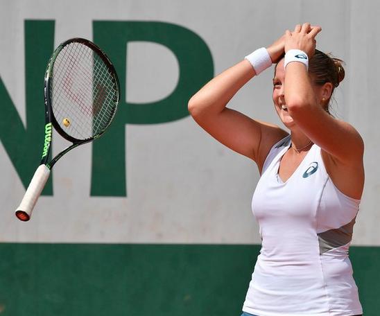 Surprise! Shelby Rogers nas 4as. em Roland Garros