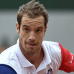 Gasquet surpreendentemente nas 4as de Paris pela 1a. vez