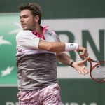 May 29, 2015 Stan Wawrinka of Switzerland in action during the French Open, played at Stade Roland Garros, Paris, France