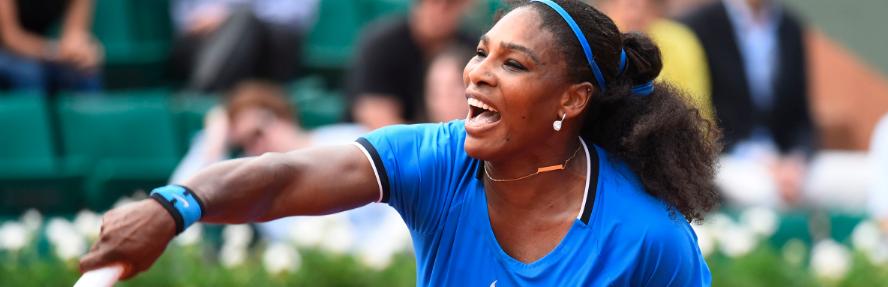 Serena arrasa e 4as de Roland Garros estão definidas