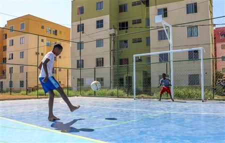 Rio Open inaugura complexo esportivo em Queimados