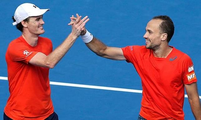 Bruno e Murray lideram ranking mundial de duplas