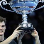Bruno e Murray encerram temporada e recebem trofeu de no1 em Londres