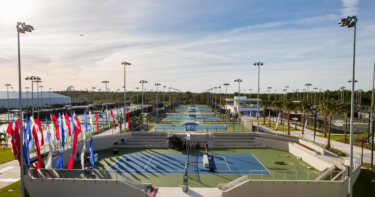 USTA inaugura centro de treinamento com 100 quadras em Orlando