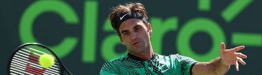 Federer bate Del Potro e joga 8ªs de Miami na 3ª. Nadal também entra em quadra
