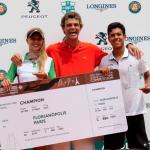 João Ferreira e Nathalia Gasparin vencem o Rendez Vous a Roland Garros