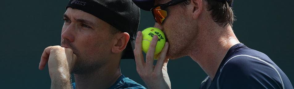 Bruno e Murray estreiam com vitória no Miami Open. Melo e Kubot também vencem.