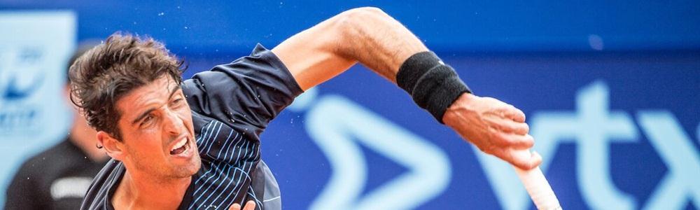 Bellucci perde na estreia de simples, mas vai às quartas de duplas com Sá, em Gstaad