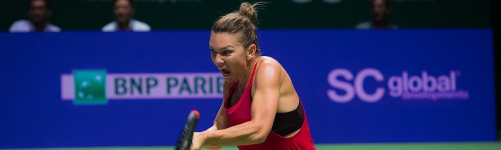 Halep e Wozniacki são as vitoriosas do 2º dia do WTA Finals, em Singapura