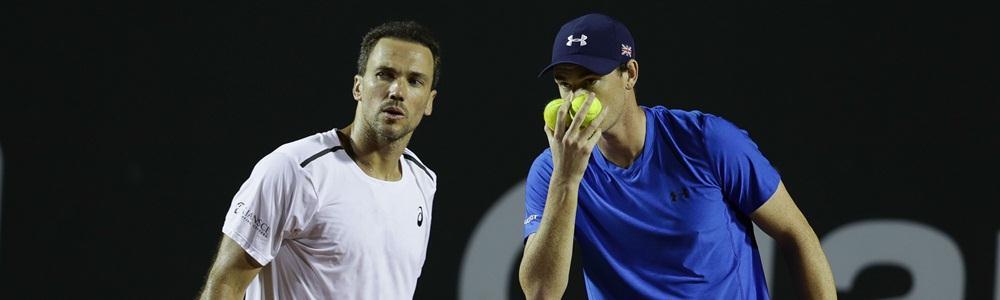 Bruno e Jamie perdem match points e são eliminados na estreia em Monte Carlo