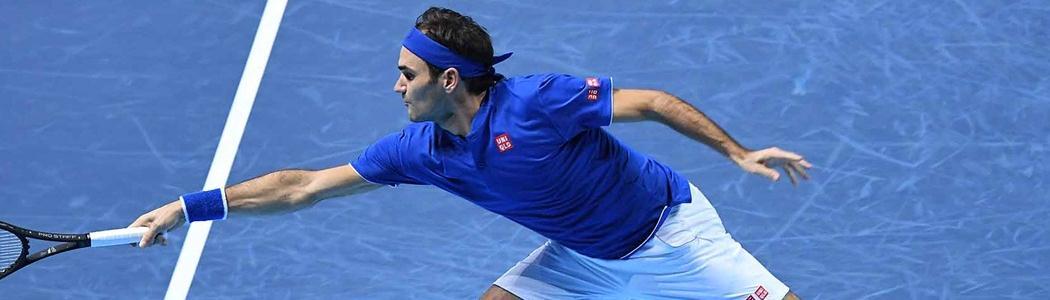 Federer bate Anderson e se garante em 1º no seu grupo no Finals. Sul-africano passa em 2º
