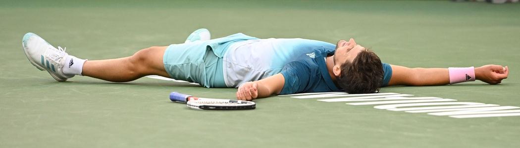 Thiem vira sobre Federer e conquista em Indian Wells o seu 1º título de Masters 1000