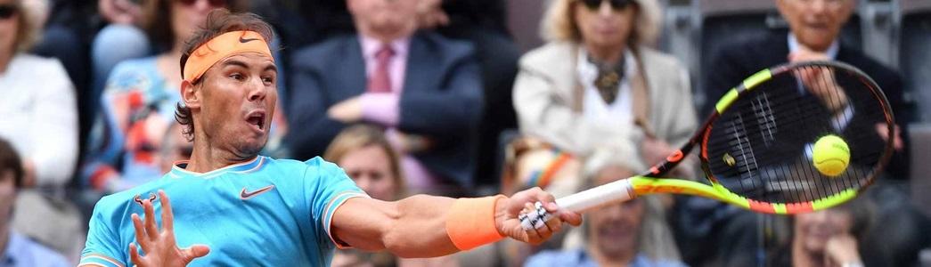 Nadal aplica pneu, bate Djokovic em Roma e volta a ser recordista de títulos de Slam