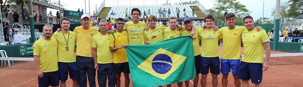 Com vitória dos mineiros e de Thiago Monteiro, Brasil vence Barbados na Copa Davis em Criciúma