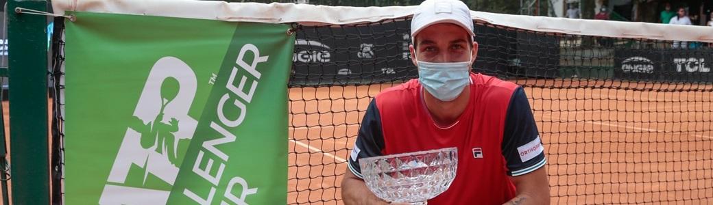 Felipe Meligeni é campeão de simples e duplas do Challenger de São Paulo