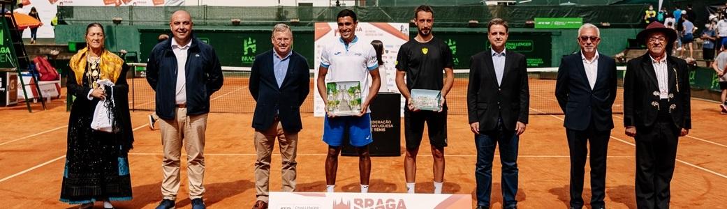Thiago Monteiro é campeão em Braga, seu primeiro título na temporada